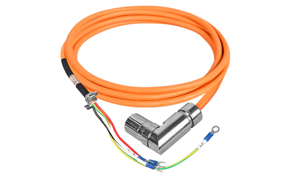 Motor power cable assembly